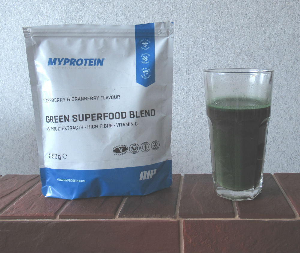 green superfood blend